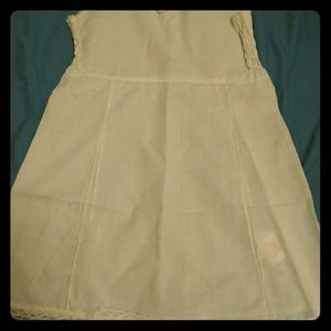 Other - Size 6 Girls Full Slip White Lace Trim